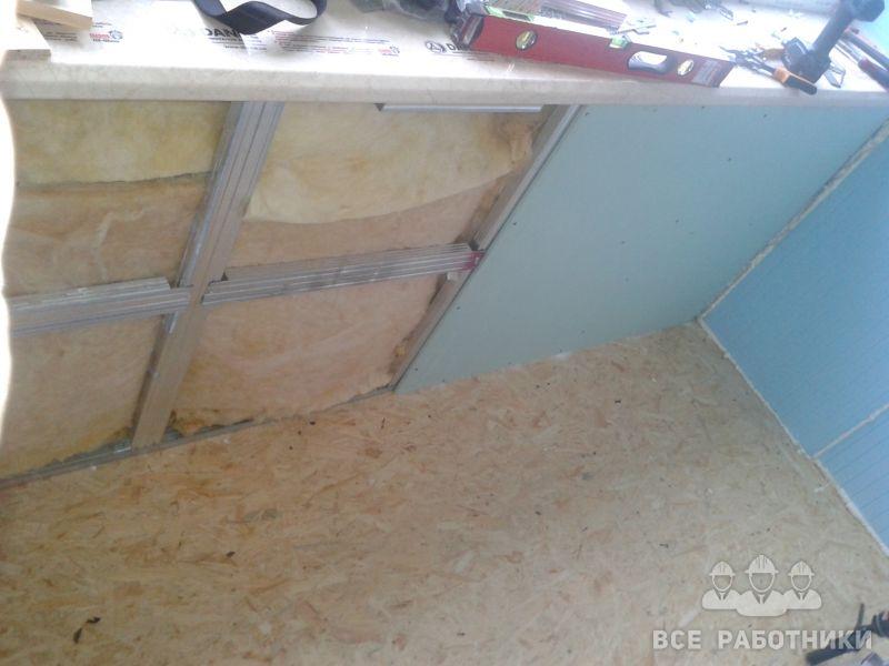 Отделка мансарды, балкона и лоджии гипсокартоном (фото, виде.