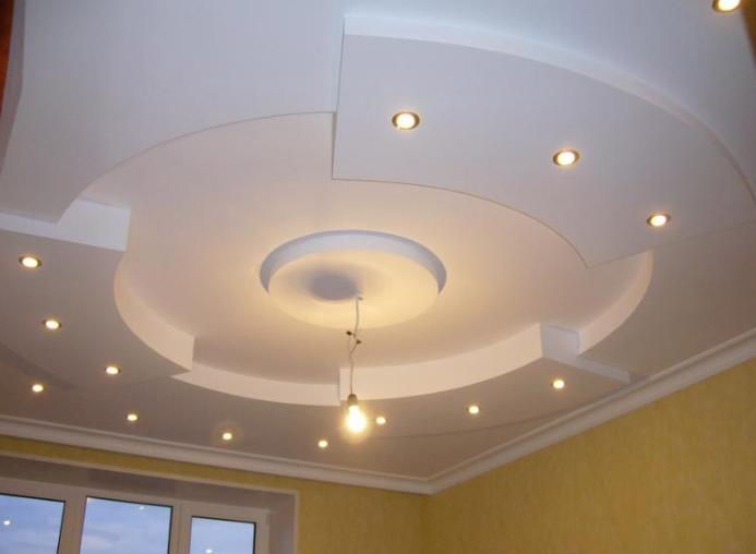 Абстрактный потолок