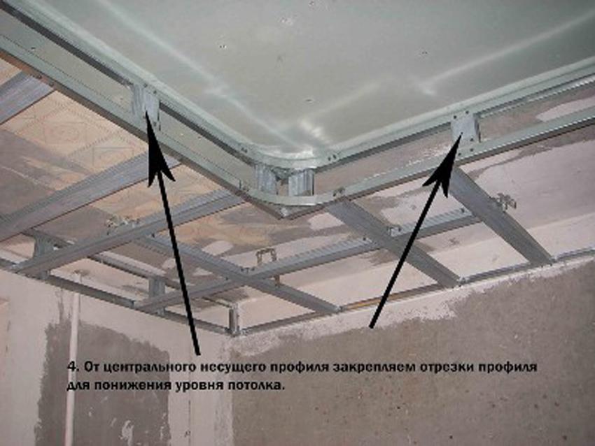 Как сделать многоуровневый из гипсокартона на потолке