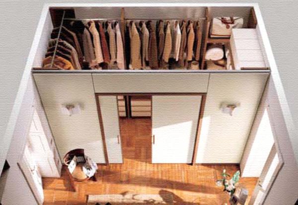 Двери-купе в гардеробную своими руками