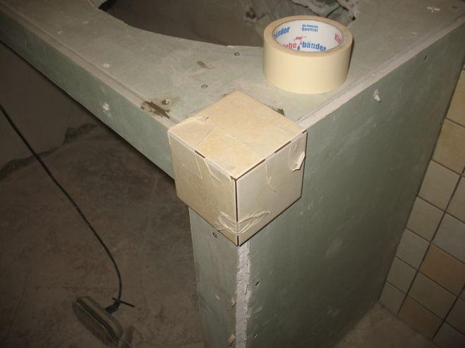 Тумба в ванной из гипсокартона своими руками