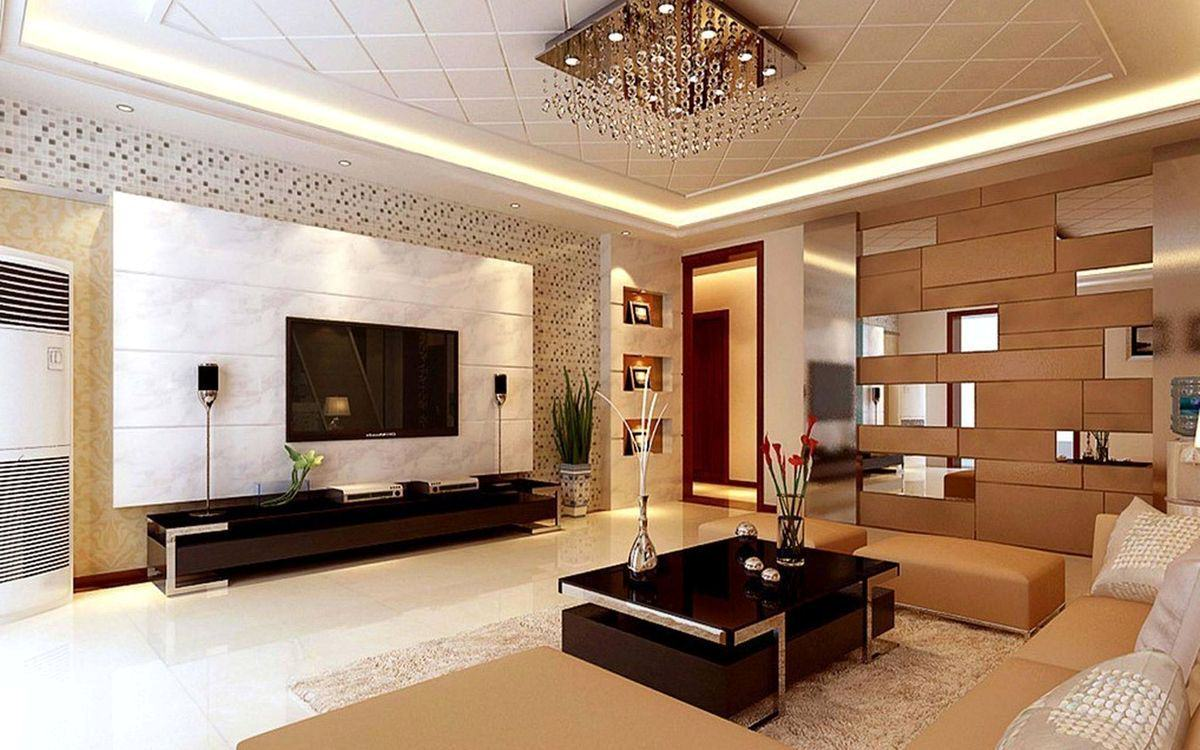 Ремонт потолков в квартирах зал