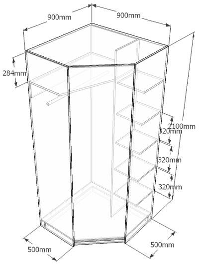 Встроенный шкаф купе своими руками: экономия пространства и 48