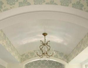 Арочные потолки из гипсокартона