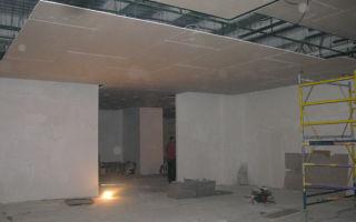 Гипоскартонный потолок или натяжной