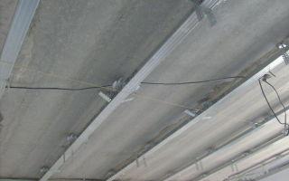 Материалы для навестных и уровневых потолков