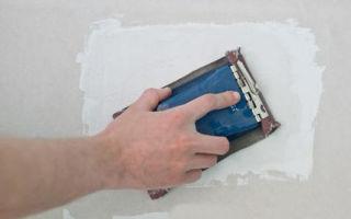 Как заделать дырку в гипсокартоне