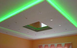 Как сделать подвесной потолок из гипсокартона
