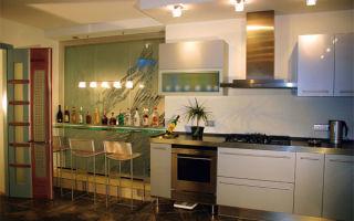 Гипсокартонные конструкции на кухне