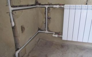 Как спрятать стояк отопления в доме