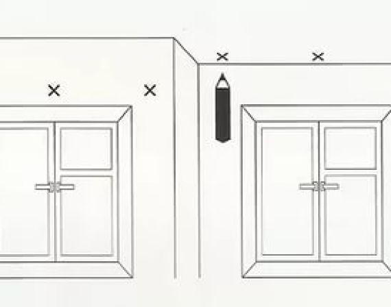 Как закрепить гардину на гипсокартон