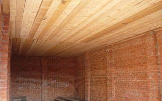 Чем подшить потолок в гараже