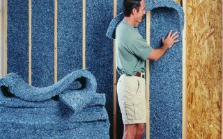 Как утеплить стену из гипсокартона