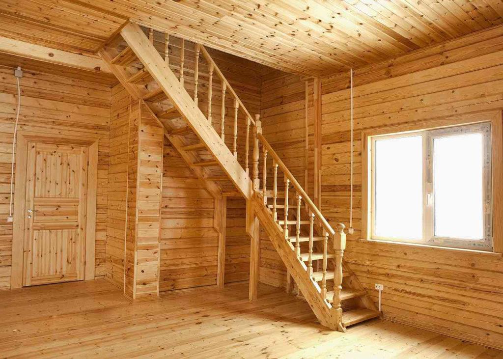 Чем обшить дом внутри